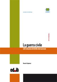 """Copertina libro """"La guerra civile nell'evoluzione del diritto internazionale"""""""