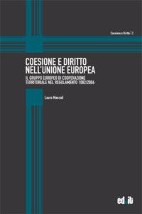 """Copertina libro """"Coesione e Diritto nell'Unione Europea"""""""