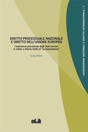 """Copertina libro """"Diritto processuale..."""""""